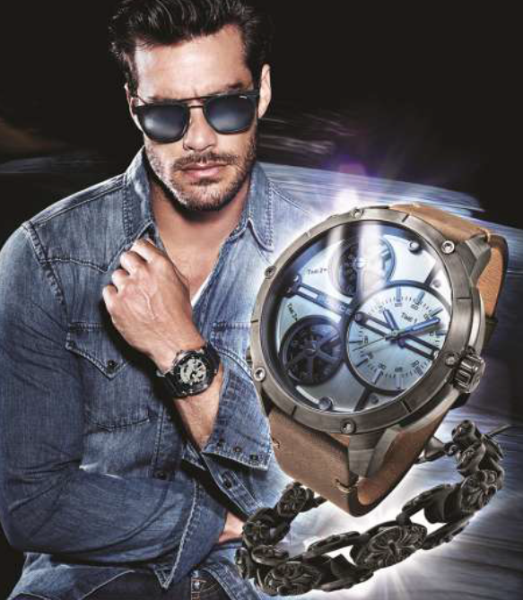 Man Jewels and Watches